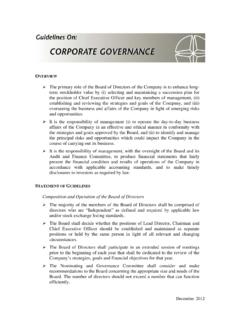 Corp Gov Guidelines December 2012-final - Sypris