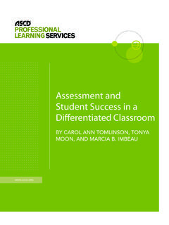 Assessment and Student Success in a - ASCD