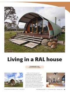 Living in a RAL house - The Owner Builder