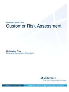 Customer Risk Assessment 0908 - Prime Associates