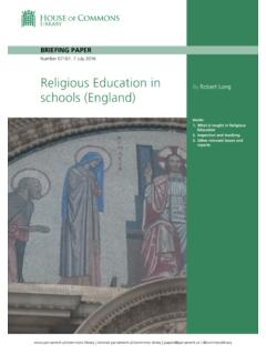 Religious Education in schools (England)