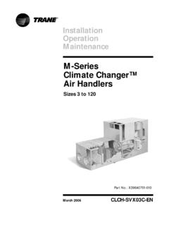 M-Series Climate Changer™ Air Handlers