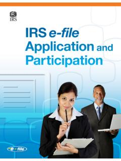 IRS e-file Application Participation