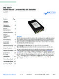 PFC Mini™ Power Factor Corrected AC-DC Switcher