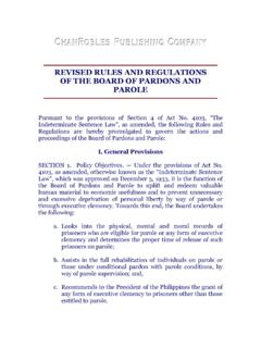 REVISED RULES AND REGULATIONS OF THE …