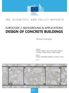 EUROCODE 2: BACKGROUND & APPLICATIONS DESIGN …