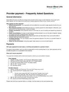 Provider payment – Frequently Asked Questions