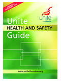 HEALTH AND SAFETY Guide - Unite the Union