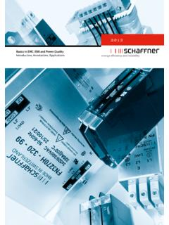 1 Basic in EMC and Power Quality - schaffner.com