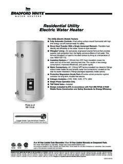 Residential Utility Electric Water Heater