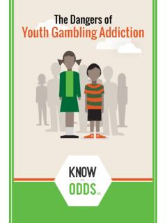 The Dangers of Youth Gambling Addiction - knowtheodds.org