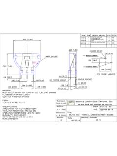BS-5 Datasheet and Technical Drawing | MPD