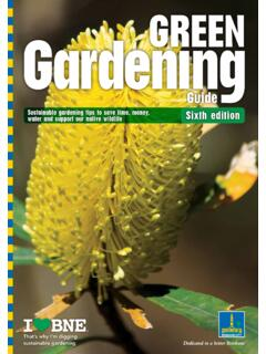 Green Gardening Guide - Brisbane