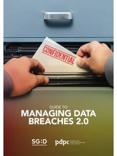 GUIDE TO MANAGING DATA BREACHES 2 - pdpc.gov.sg