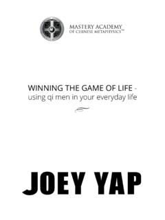 WINNING THE GAME OF LIFE - Joey Yap