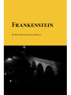 Frankenstein - Planet eBook