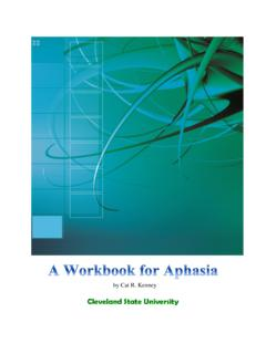 A Workbook for Aphasia