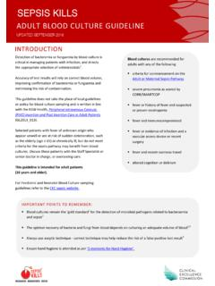 Page 1 SEPSIS KILLS - NSW Health