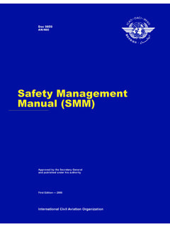 Safety Management Manual (SMM) - ihst.rotor.com