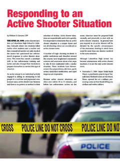 Responding to an Active Shooter Situation