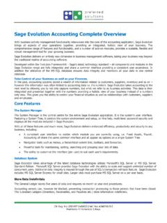 Sage Evolution Accounting Complete Overview - prefsol.co.za
