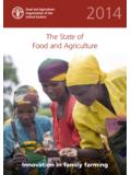 The State of Food and Agriculture (SOFA) 2014