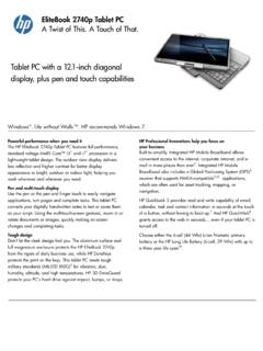 Tablet PC with a 12.1-inch diagonal display, plus …