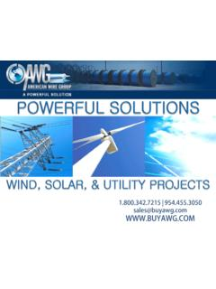 About AWG - Company Overview - American Wire Group