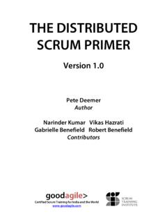 distributed scrum primer 1.0 - GoodAgile