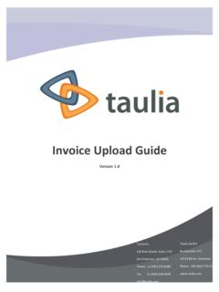 Invoice Upload Guide v1.0 - Amazon Web Services