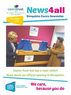 Newsletter - Carers Trust 4all