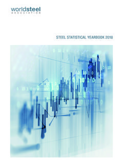 STEEL STATISTICAL YEARBOOK 2018 - worldsteel.org