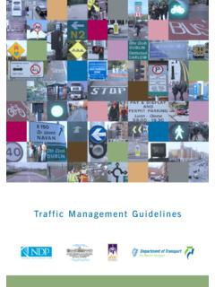 Traffic Management Guidelines - National Transport Authority