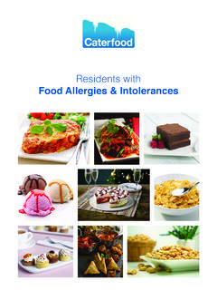 Residents with - Caterfood