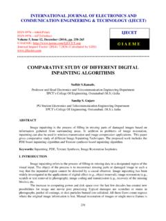 34 COMPARATIVE STUDY OF DIFFERENT DIGITAL …