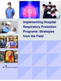 Implementing Hospital Respiratory Protection Programs ...