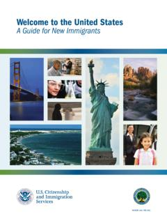 Welcome to the United States A Guide for New …