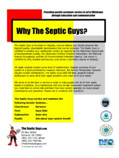 Why The Septic Guys