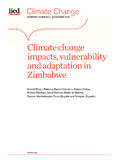 Climate change impacts, vulnerability and …