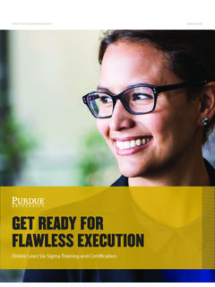 GET READY FOR FLAWLESS EXECUTION - purdue.edu