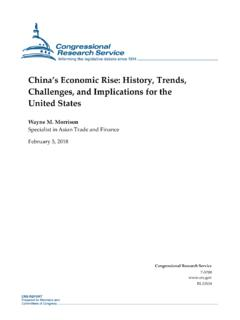 China's Economic Rise: History, Trends, Challenges, and ...