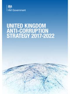 UNITED KINGDOM ANTI-CORRUPTION STRATEGY …