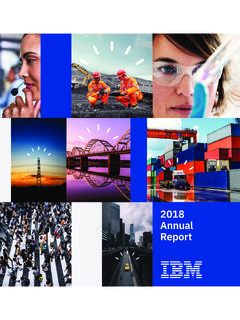 IBM Annual Report 2018