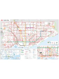 TTC System Map May 2019