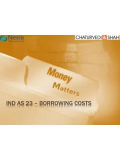 Ind AS 23 – Borrowing Costs