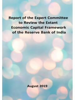 Report of the Expert Committee to Review the Extant