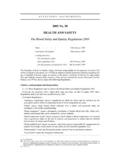 2005 No. 50 HEALTH AND SAFETY - Legislation.gov.uk