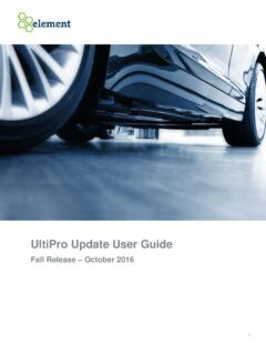 UltiPro Update User Guide - Constant Contact