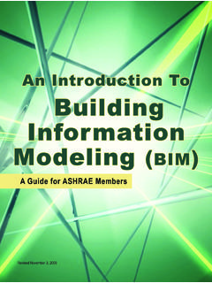 An Introduction To Building Information Modeling