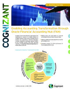 Enabling Accounting Transformation through Oracle ...